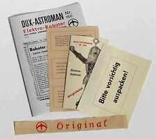 DUX  ASTROMAN Gebrauchsanweisung etc, printed items, 100 % authentisch, perfekt!