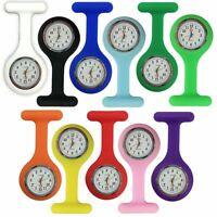 Silicone Nurse Watch Brooch Tunic Fob Nursing Nurses Pendant Pocket Watches AU