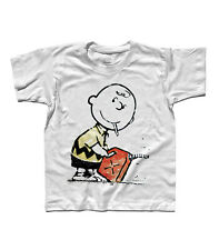 T-Shirt Child Banksy Charlie Brown Pyromaniac Penauts Snoopy Woodstock