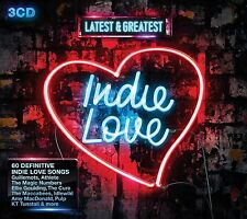 Latest & Greatest Indie Love 3-CD Box Set NEW SEALED Cure/Pulp/Stands/Ash/Cast+