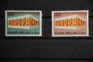 P2 Europa Griechenland CEPT 1004/1005 postfrisch