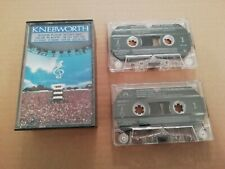 V/A * KNEBWORTH THE ALBUM * 2 X CASSETTE QUO PLANT FLOYD CLAPTON GENESIS....1990