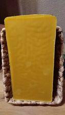Cire d'abeille naturelle natural beeswax plaque de 1 kg