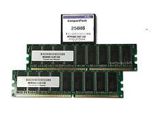 Cisco Router 2821 1GB (2 x 512MB) MEM2821-512D DRAM Memory + MEM2800-256CF Flash