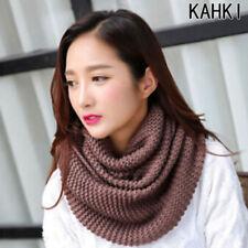 Ladies Khaki Mohair Beautifully Soft Neck Winter Snood