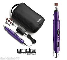 ANDIS DOG CAT Pet Groomer Grooming NAIL Claw 2-Speed Professional GRINDER KIT