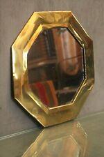 Miroir de forme octogonale en laiton Proche-Orient Moyen-Orient