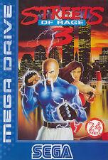 ## SEGA Mega Drive - Streets of Rage 3 - TOP / MD Spiel ##