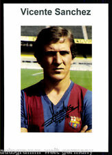 Vincent Sanchez FC Barcelona TOP Foto Orig. Sign. +G 9501