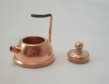 Tea Kettle Copper pot  w/ LId  dollhouse D0864 Town Square Miniatures IM65065