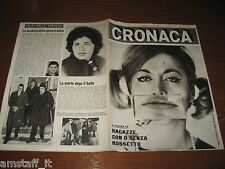 RIVISTA CRONACA=1964/3=COVER LIANA TROUCHE=DELITTO SARNO/SAVERIO=MAIERO FERRARA=