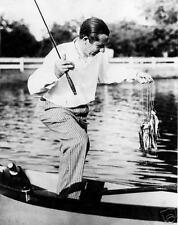 Walter Hagen 1929 fishing photograph