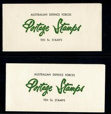 Australia Military Booklets S 00004000 G Mb1 And Mb2, Intact And Complete
