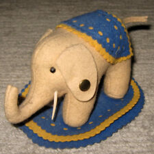 Steiff · Elefant · Filz Filzelefant · Replica · Museum-Collection · Knopf im Ohr