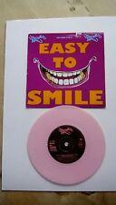 "SENSELESS THINGS- 7"" Pink Vinyl vinyl EASY TO SMILE/ HAZEL, 1991,Sony."