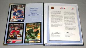 1993-94 NHL Kraft - Jell-O Hockey Champions Full 84/84 Hockey Cards Set + Album