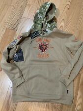 Nike NFL CHICAGO BEARS Men's 2019 SALUTE TO SERVICE HOODED SWEATSHIRT Sz S New