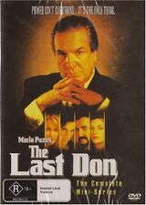 MARIO PUZO'S THE LAST DON : MINISERIES  -  DVD - UK Compatible - New & sealed