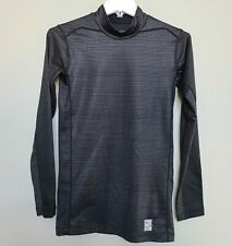 Nike Pro Combat Fitted Mock Neck Mens Long Sleeve Shirt Sz Small Hyperwarm