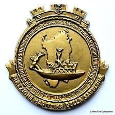 Direzione Marittima Della Sardegna Sardinia - Italian Navy Tampion Plaque Crest
