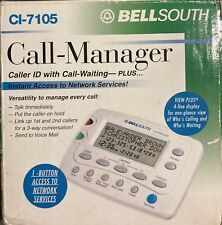 Bellsouth CI-7105 Call Manager Caller ID With Call Waiting NEW