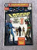 OUR FIGHTING FORCES #136 HIGHER GRADE BRONZE AGE CLASSIC KUBERT COVER!!