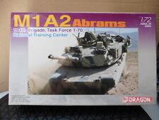 Dragon Armor Pro 1:72 M1A2 Abrams 194th Brigada, Task Force Kit Modelo En Caja