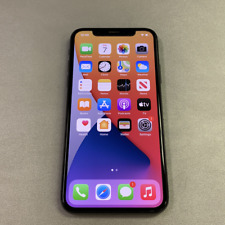 Apple iPhone X - 256GB - Gray (Unlocked) (Read Description) BJ1175