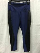 NIKE CAPRI TRAINING CROP LEGGING MIDNIGHT BLUE/BLACK S
