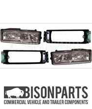 +DAF LF45 LF55 CF85 95XF SPOT & FOG LAMPS & BRACKETS LH & RH DAF020/021/024/025
