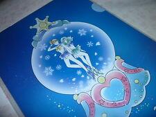RARE Sailor moon Prism Stars Sparkling Glitter Shinny File Folder Holder # 1