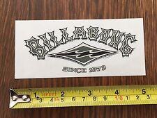 VINTAGE Billabong Sticker - RARE - Australia Since 1973 - Waves Surf Surfing