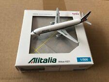 Herpa Wings 1:500 Alitalia Airbus A321, NG+OVP!!!