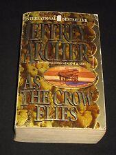 wmf  SALE : JEFFREY ARCHER ~ AS THE CROW FLIES