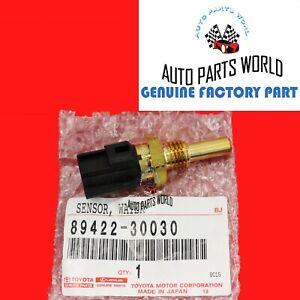GENUINE TOYOTA LEXUS 4RUNNER SEQUOIA GS300 SC430 COOLANT TEMP SENSOR 89422-30030