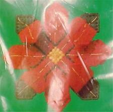 Christmas Ornament Needlepoint Kit Poinsettia Flowers New Columbia Minerva