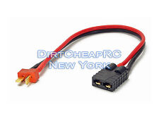 ID Charger Adapter: Traxxas Female to Deans Male T-Plug LiPo TRX TRA2970 TRA2972