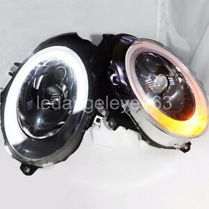 For Mini Cooper F56 LED Headlight Fit original Halogen Version 2014-2015 year