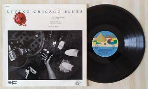 DISQUE VINYLE LP LIVING CHICAGO BLUES VOL 3 ST 8545