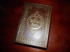 """The Tribute Book"" by Frank B. Goodrich 1865 Near Fine Condition"
