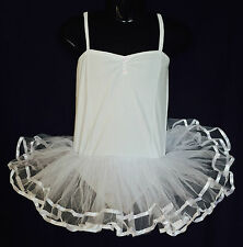 Girls Tutu, Ballet, Fairy Dress, Costume White  Approx 2-4yrs Great for dress-Up