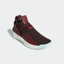 Adidas Mens James Harden Vol2 LS 2 Maroon Lace Basketball Size 14 CG6277