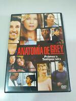 Anatomia de Grey Primera Temporada 1 Completa - 2 x DVD Español Ingles