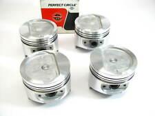 (4) Perfect Circle 224-2310 Engine Piston - Standard 1983-1986 Toyota 2SELC 2.0L