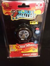 HOT WHEELS / RALLY CASE with Exclusive Race Car - Worlds Smallest Collectible