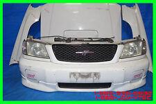 JDM Subaru Forester STi SF5 Bumper Headlights Fenders Hood Grille Fog 1998-2002
