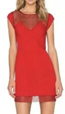 The Kooples Mini Red Poppy Dress 7970 Size Medium