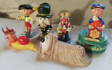 6 Vintage Corgi Magic Roundabout Figures Circa 1972