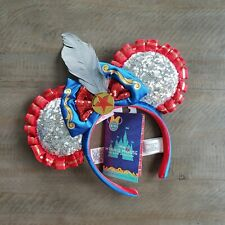 Disney Minnie Mouse The Main Attraction Headband Ears Dumbo The Flying Elephant