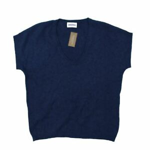 Brora Women's Jumper 8 Blue, 100% - cashmere